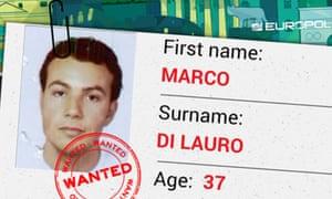 Mafia boss Marco Di Lauro