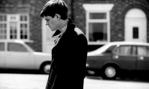 Sam Riley as Ian Curtis in Control.