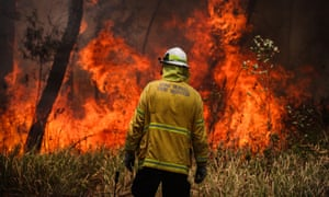 A back-burning operation in New South Wales, Australia