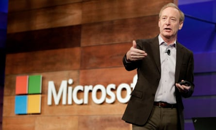 Microsoft president and chief legal officer, Brad Smith