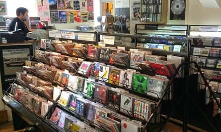Tangled Parrot record shop, Camarthan