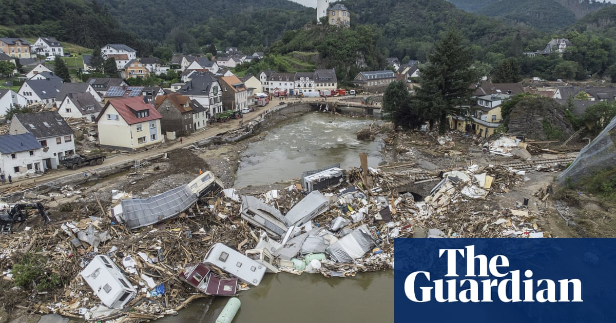 German villages could be left with no drinking water after floods