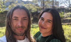 Chris Gorter and his partner Christie are hoping to build their home using Covid-19 government grants and by early access to superannuation.