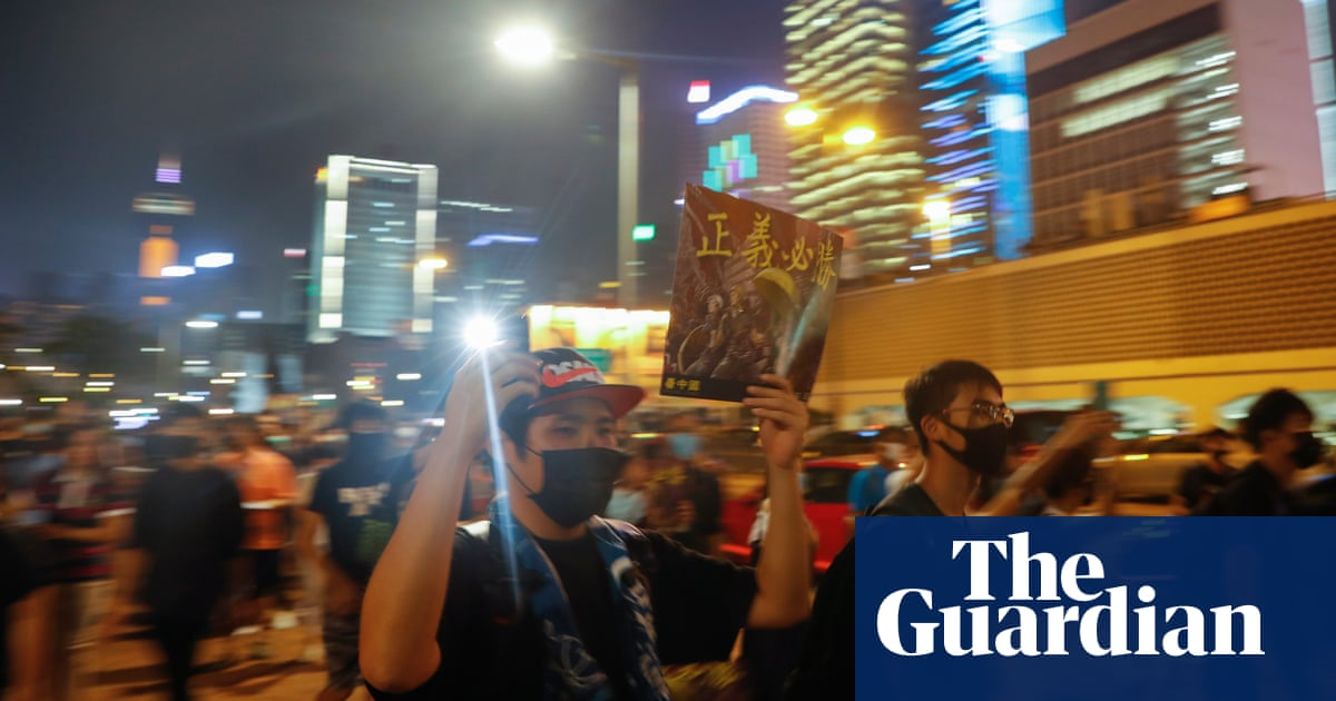 Hong Kong activist stabbed handing out pro-democracy leaflets at 'Lennon Wall'
