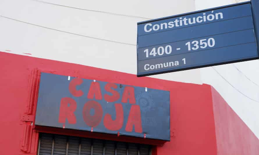 Headquarters of Ammar, the Argentinian sex workers union.