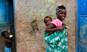 Children in Luanda