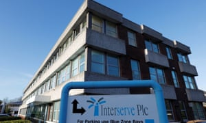 Interserve's offices are seen in Twyford.