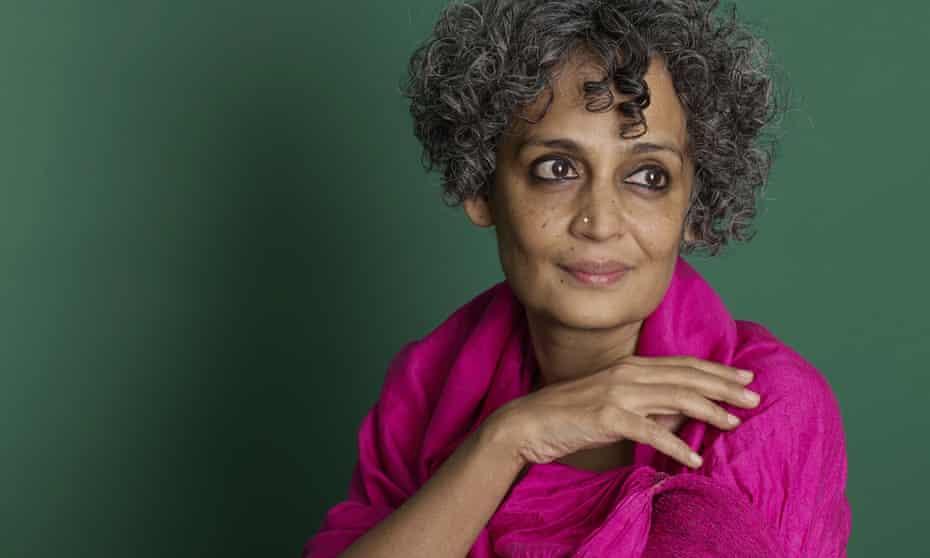 Arundhati Roy in 2014.