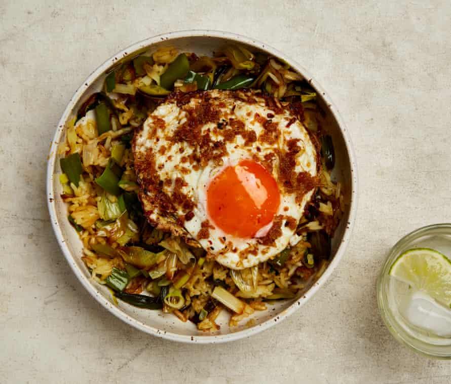 Sunny side up: Yotam Ottolenghi's ginger egg fried rice.