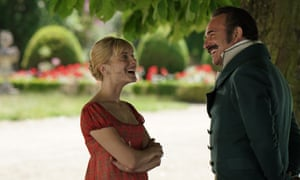 Irresistible charm … Mélanie Laurent and Jean Dujardin Return of the Hero.