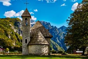 Theth national park, Albania.