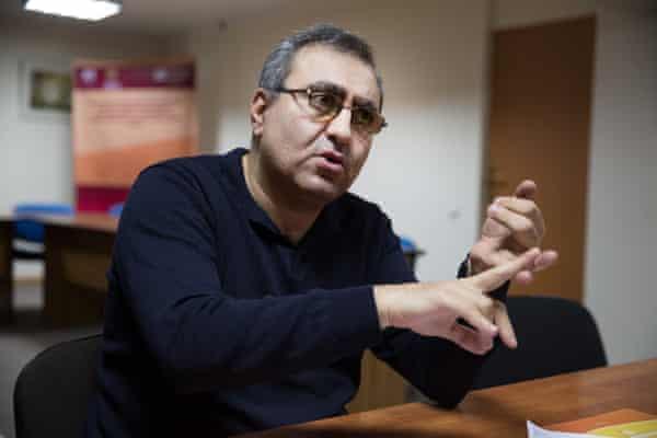 Vahan Asatryan of the International Center for Human Development thinktank