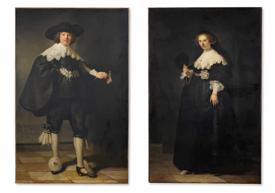 Tainted? … Rembrandt's portraits of sugar-rich couple Marten Soolmans and Oopjen Coppit.