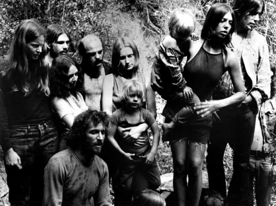 'He was an awful human being' … Manson and the Family, in a 1973 documentary.