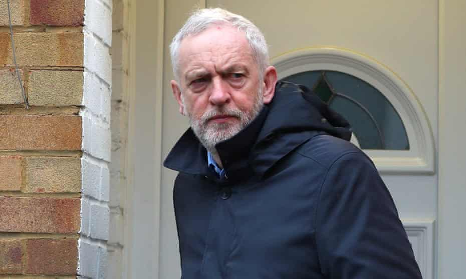 Jeremy Corbyn's attendance was described by a Labour MP as as 'irresponsible and dangerous'.