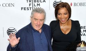 Robert De Niro and his wife Grace Hightower.
