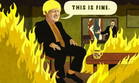 Rebecca Hendin on Boris Johnson's trip to Luxembourg – cartoon