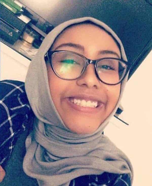 Nabra Hassanen was killed on Sunday morning in Virginia.