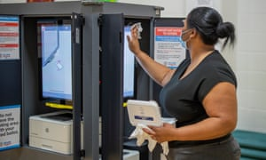 New state-issued voting machines proved problematic in a number of locations in Georgia's primary.