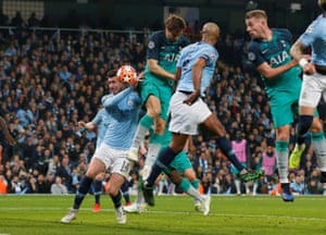 Fernando Llorente's hip directs the ball into the net.