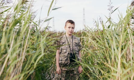 'I want to be a naturalist when I'm older': Sam Marsh.