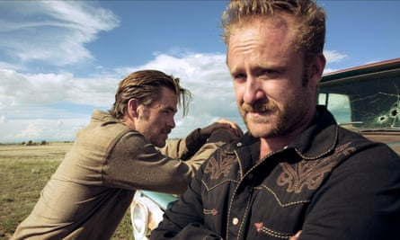Chris Pine and Ben Foster in David Mackenzie's film Hell or High Water