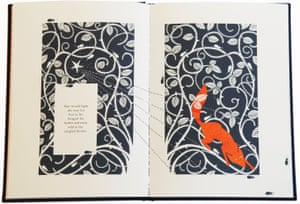 An illustration from The Fox and the Star by Coraline Bickford-Smith.