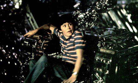 Cramer was 12 years old when he played a boy who has an adventure with an alien spaceship in Flight of the Navigator.