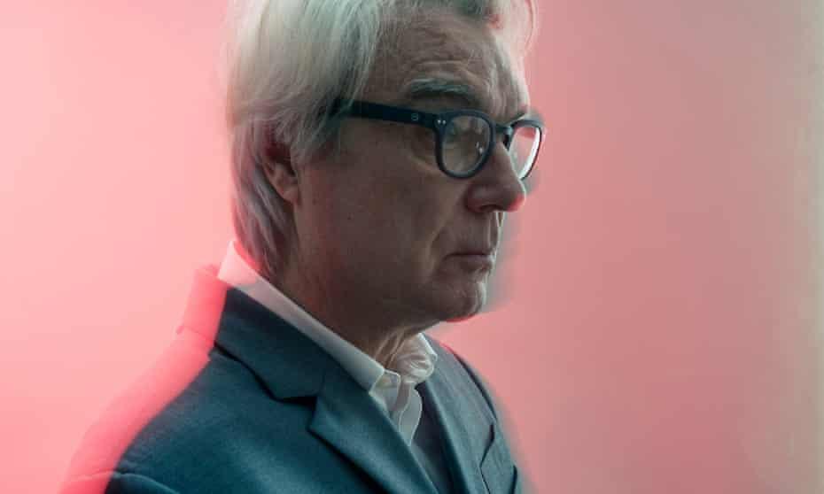 David Byrne shot at Langham Hotel