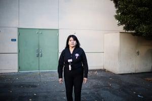 Vicky Avila-Medrano, a food connection specialist.