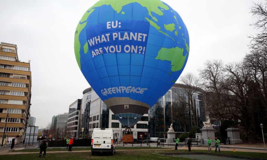Greenpeace balloon