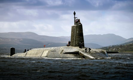 HMS Vigilant was launched in 1995