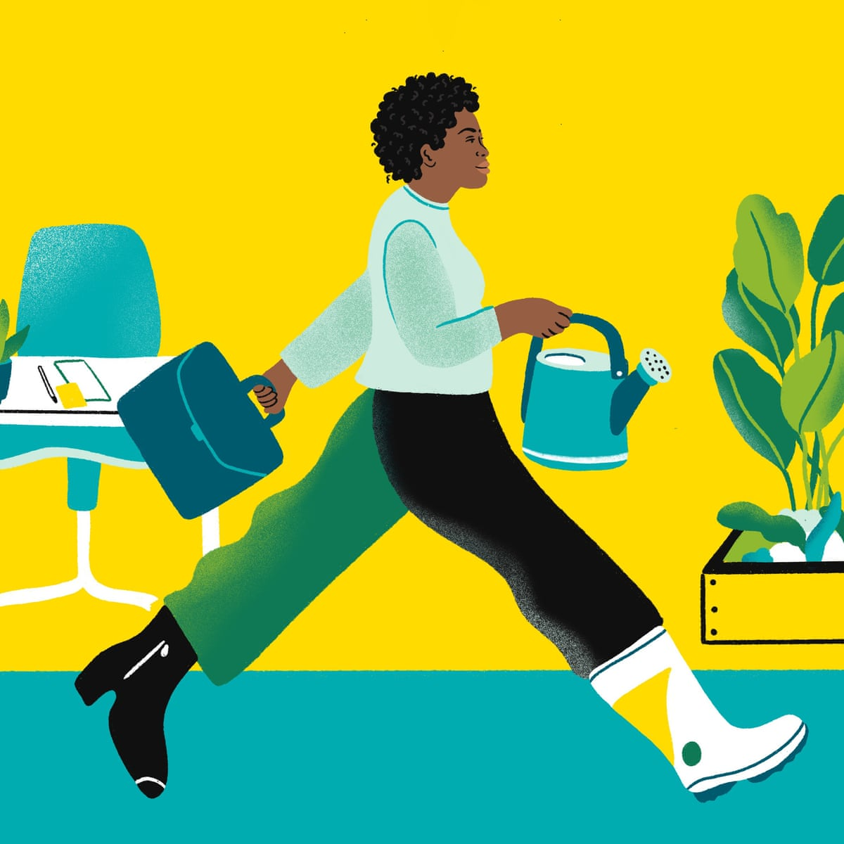 It takes a side hustle – how to plan a midlife career change   It takes  each action   The Guardian