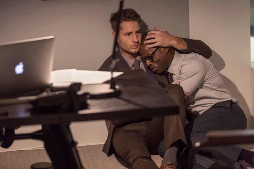 A show partial to reducing viewers to sobbing messes in the comfort of their own homes … Kevin and Randall in This Is Us.