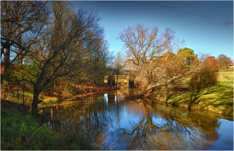The Campaspe River near Kyneton in central Victoria