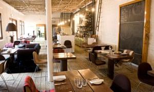 Timberyard restaurant