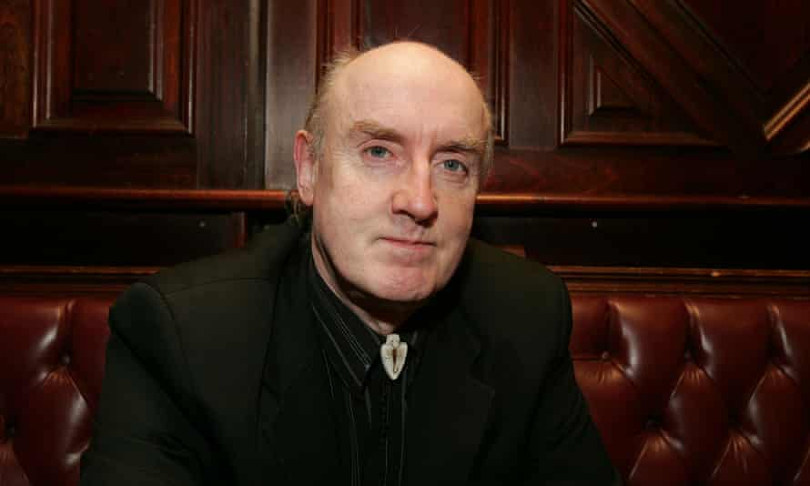 Johnny Rogan in 2011. He became adept at reading the small print in book contracts, knowledge which he was happy to share with other, less savvy, authors.