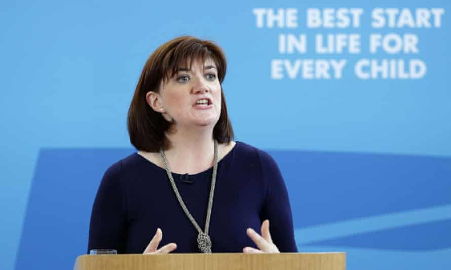 Nicky Morgan has been urged to examine the government's policy