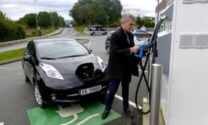 electric car in norway