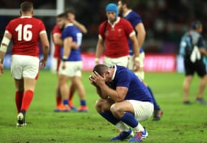 Dejection for Louis Picamoles and France.