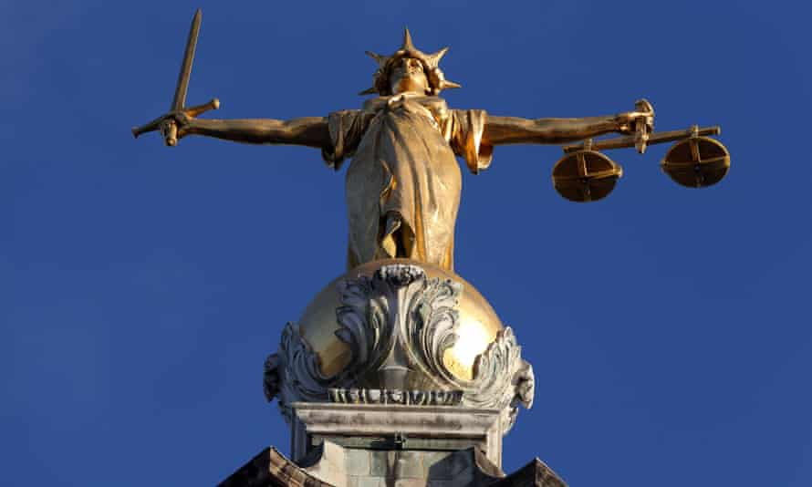Lady Justice on top of the Old Bailey in London