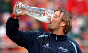 Jürgen Klopp enjoys Bundesliga survival with Mainz.