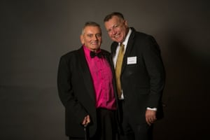 Good friends John Garland and John Wall, who met through Switchboard, an LGBTI service for older people living at home who need someone to chat to