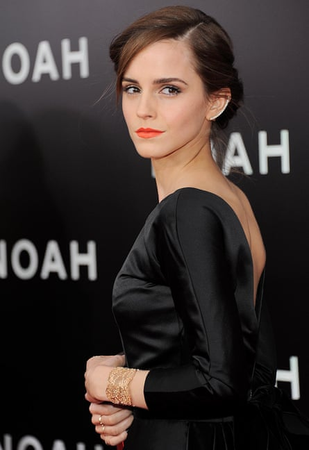 'She is clearly not an activist of the old school' ... Emma Watson at the Noah film premiere in New York.