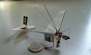 "The DelFly Micro is a ""Micro Air Vehicle,"" an exceptionally small remote-controlled aircraft with camera and image recognition software. The Micro, weighing just 3 grams and measuring 10 cm (wingtip to wingtip) is the considerably smaller successor to the successful DelFly I (2005) and DelFly II (2006)."