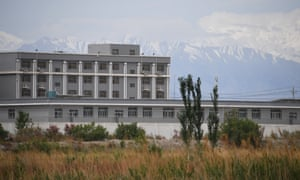 A facility believed to be an internment camp in China's northwestern Xinjiang region