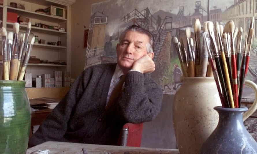 Renowned 'pitman painter' Norman Cornish, who died in 2014.