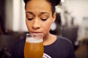 'I'm looking for its flavour to check it's nice and balanced and then simply making sure it tastes as it should taste. You can tell a lot about a beer from its smell. You can detect a lot of off flavours or if there's been any problems in the process based simply on its smell'