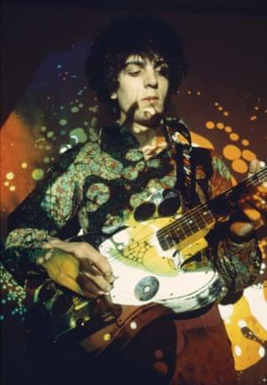 Mythic status … Syd Barrett at the UFO Club, 1967