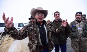 Occupier LaVoy Finicum has said the militia will meet with the community of Burns.